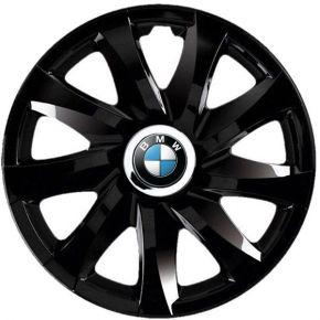 "Tapacubos para BMW 14"", DRIFT NEGRO LACADO 4 pzs"