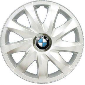 "Tapacubos para BMW 14"", DRIFT GRIS LACADO 4 pzs"