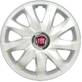"Tapacubos para FIAT 14"", DRIFT GRIS LACADO 4 pzs"