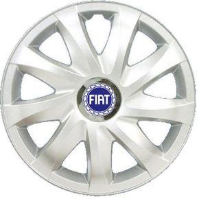 """Tapacubos para FIAT BLUE 14"""", DRIFT GRIS LACADO 4 pzs"""