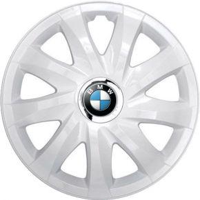 "Tapacubos para BMW 16"", DRIFT BLANCO LACADO 4 pzs"