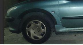 Protector plástico paso de rueda para PEUGEOT 206 5-PUERTAS 1998-2012