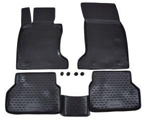 Alfombrillas de goma BMW 5-serie E60 / E61  2003-2010  4 piezas