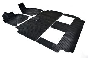 Alfombrillas de goma DODGE GRAND CARAVAN 2008-2011 (USA) 4 piezas