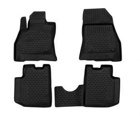Alfombrillas de goma FIAT 500L 2013-up 4 piezas