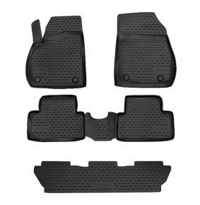 Alfombrillas de goma OPEL ZAFIRA C 2012-up, 5 SEATS 5 piezas