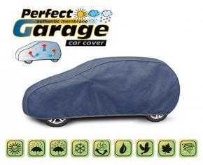 Funda protectora de membrana suave para todo el automóvil PERFECT GARAGE hatchback Lancia Y 2011 380-405 cm