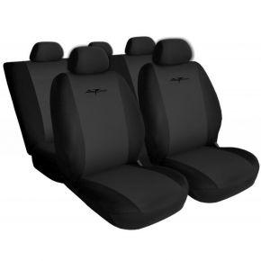 Fundas de asiento - PRIMA, gris oscuro