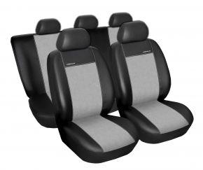 Fundas de asiento universales PREMIUM gris, tamaño B