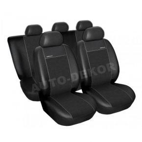 Fundas de asiento universales PREMIUM negro, tamaño B