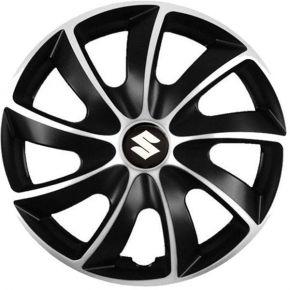 """Puklice pre Suzuki 14"""", Quad bicolor, 4 ks"""