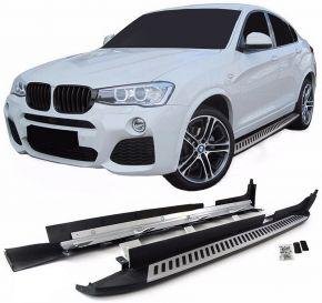 Barras de paso lateral para BMW X4 F26 2014-2018