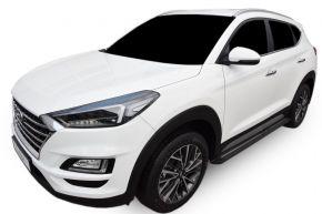 Barras de paso lateral para Hyundai Tucson 2015-up BLACK