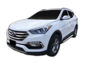 Barras de paso lateral para Hyundai Santa Fe 2018-up
