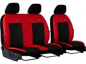 Fundas de asiento a medida de Piel ROAD FIAT DOBLO IV 2+1 (2015→)