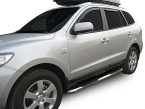 Marcos laterales de acero inoxidable para Hyundai Santa Fe 2006-2012