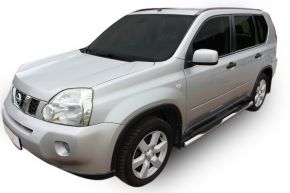 Marcos laterales de acero inoxidable para Nissan X-Trail T31 2007-2013