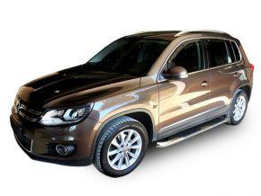 Marcos laterales de acero inoxidable para Volkswagen Tiguan 2007-2015