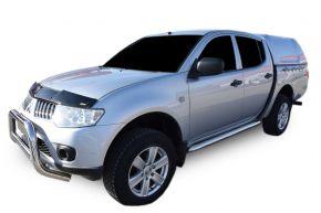 Marcos laterales de acero inoxidable para Mitsubishi L200 2007-2016 4D (76mm)