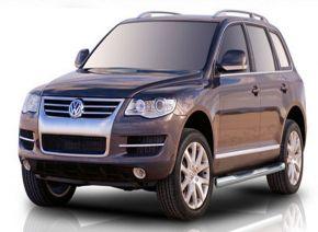 Marcos laterales de acero inoxidable para Volkswagen Touareg 2002-2010