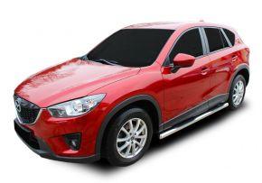 Marcos laterales de acero inoxidable para Mazda CX-5 2012-2016
