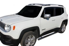Marcos laterales de acero inoxidable para Jeep Renegade 2014-up