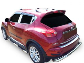 Marcos laterales de acero inoxidable para Nissan Juke 2010-2014 / 2014-2019