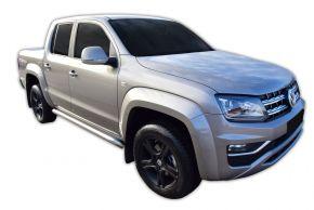 Marcos laterales de acero inoxidable para Volkswagen Amarok 2010-2016, 2016-up