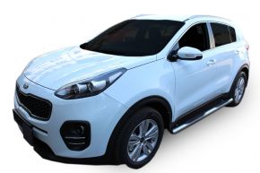 Marcos laterales de acero inoxidable para Kia Sportage 2015-up