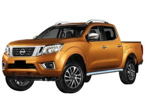 Marcos laterales de acero inoxidable para Nissan Navara NP300 2016-up