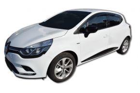 Derivabrisas SCOUTT para RENAULT CLIO 4 HB, D + I 2013-, anteriores y posteriores, 4pz, 5-puertas