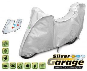 Funda para moto SILVER GARAGE 240-265 cm + maletero