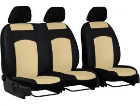 Fundas de asiento a medida de Piel FIAT DOBLO IV 2+1 (2015→)