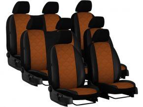 Fundas de asiento a medida Piel con impresión MERCEDES VITO W447 8p. (2014-2020)