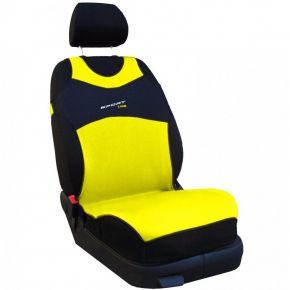 T-shirt coche Sport Line, amarillo, delanteras 2 uds.