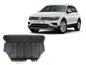 Protectores  de motor y caja de cambios Volkswagen Tiguan 1,4TSI; 2,0TSI; 2,0TDI 2016-