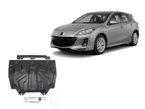Protectores  de motor y caja de cambios Mazda 3 1,5; 1,6; 2,0 2013-