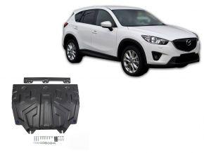 Protectores  de motor y caja de cambios Mazda CX-5 2,0; 2,5; 2,2D 2011-2017