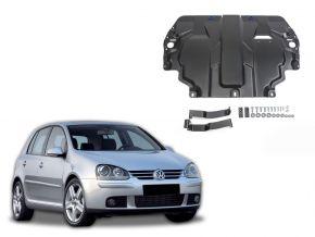 Protectores  de motor y caja de cambios Volkswagen  Golf V se adapta todos motores 2004-2008