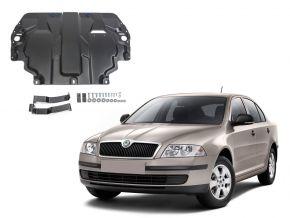 Protectores  de motor y caja de cambios Skoda  Octavia А5 se adapta todos motores 2008-2013