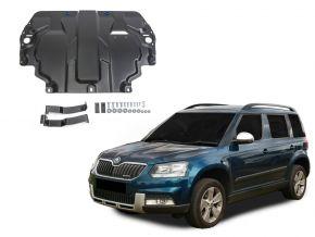 Protectores  de motor y caja de cambios Skoda  Yeti se adapta todos motores 2009-2017