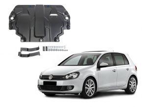 Protectores  de motor y caja de cambios Volkswagen  Golf VI se adapta todos motores 2009-2013
