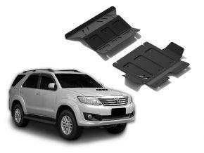 Motor de acero y tapa del radiador para Toyota Fortuner 2,5TD; 3,0TD; 2,7  2007-2015
