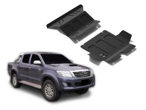 Motor de acero y tapa del radiador para Toyota Hilux 2,5TD; 3,0TD; 2,7  2007-2015
