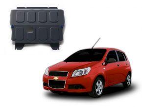 Protectores  de motor y caja de cambios Chevrolet Aveo 1,2; 1,4 2008-2012