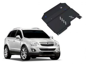 Protectores  de motor y caja de cambios Opel Antara 2,4; 3,2 2006-2011
