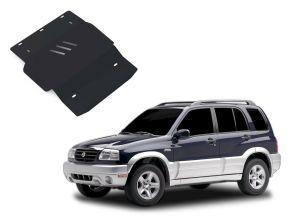 Protectores  de motor y caja de cambios Suzuki Grand Vitara se adapta todos motores 1998-2005