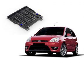 Protectores  de motor y caja de cambios Ford Fiesta 1,3; 1,4; 1,6 2002-2008