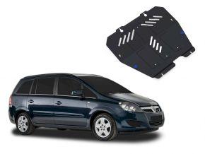 Protectores  de motor y caja de cambios Opel Zafira 1,6; 1,8; 2,0; 2,2 2006-2011