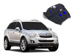 Protectores  de motor y caja de cambios Opel Antara 2,2D; 2,4i; 3,0i 2012-2015